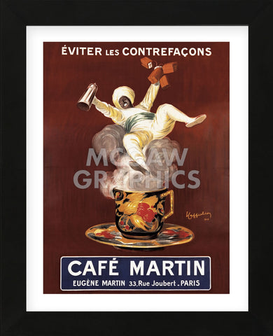 Cafe Martin (Framed) -  Vintage Posters - McGaw Graphics