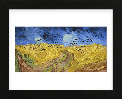Wheatfield with Crows, 1890 (Framed) -  Vincent van Gogh - McGaw Graphics