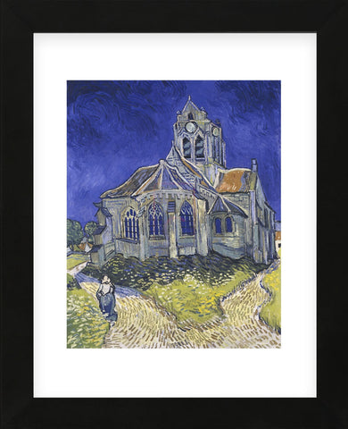 The Church at Auvers (Framed) -  Vincent van Gogh - McGaw Graphics
