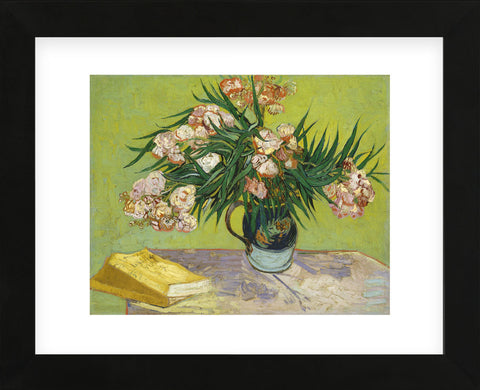 Still Life with Oleander (Framed) -  Vincent van Gogh - McGaw Graphics
