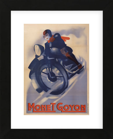 Monet Goyon (Framed) -  Vintage Posters - McGaw Graphics