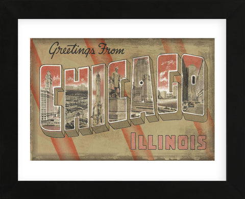 Vintage Vacation - Greetings from Chicago