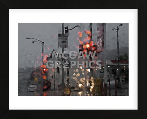 SF Early and Wet (Framed) -  David Lorenz Winston - McGaw Graphics