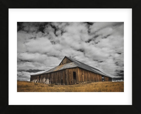 Siskiyou County Barn (Framed) -  David Lorenz Winston - McGaw Graphics