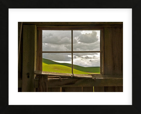 Palouse Barn (Framed) -  David Lorenz Winston - McGaw Graphics