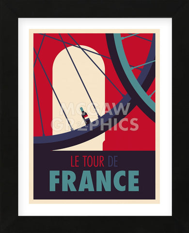 Tour de France (Framed) -  Spencer Wilson - McGaw Graphics