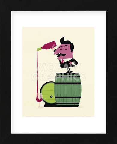 Wine (Framed) -  Spencer Wilson - McGaw Graphics