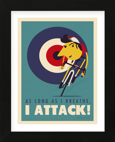 Attack (Framed) -  Spencer Wilson - McGaw Graphics