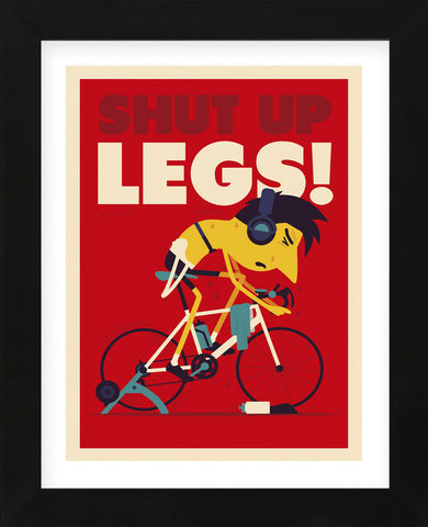 Shut Up Legs (Framed) -  Spencer Wilson - McGaw Graphics