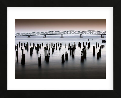 Astoria-Meglar Bridge (Framed) -  Art Wolfe - McGaw Graphics