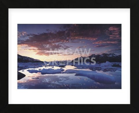 St. Elias Mountains  (Framed) -  Art Wolfe - McGaw Graphics