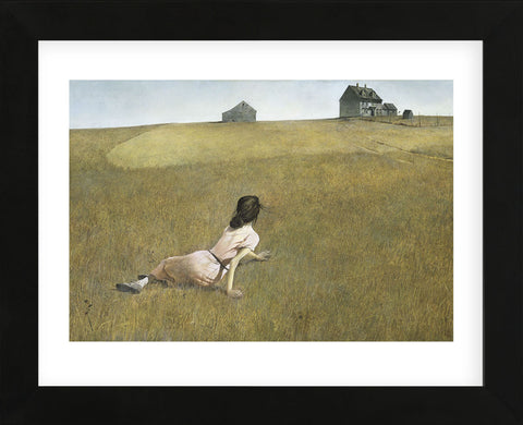 Christina's World  (Framed) -  Andrew Wyeth - McGaw Graphics