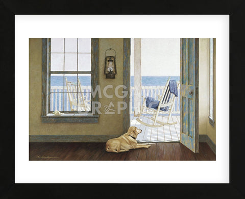 Looking Over the Sea (Framed) -  Zhen-Huan Lu - McGaw Graphics