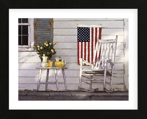 Fourth of July (Framed) -  Zhen-Huan Lu - McGaw Graphics