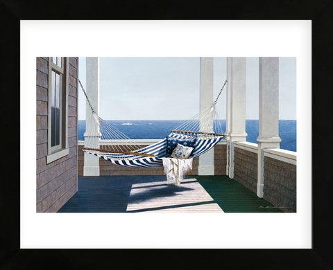 Striped Hammock (Framed) -  Zhen-Huan Lu - McGaw Graphics