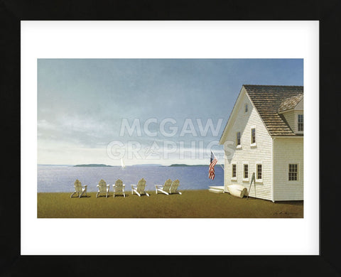 Summer Retreat (Framed) -  Zhen-Huan Lu - McGaw Graphics