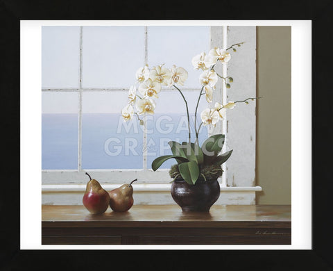 Orchids with Pears (Framed) -  Zhen-Huan Lu - McGaw Graphics
