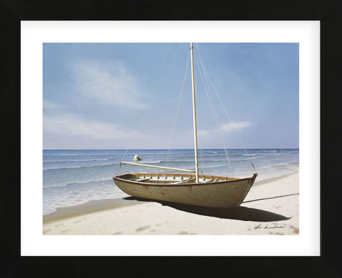 Forgotten Sailboat (Framed) -  Zhen-Huan Lu - McGaw Graphics