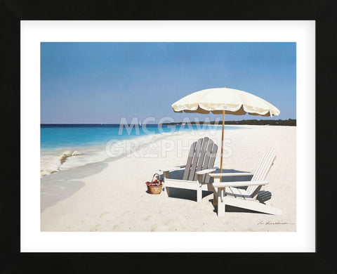 Seaside Picnic (Framed) -  Zhen-Huan Lu - McGaw Graphics
