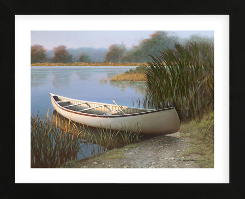 On the Lake (Framed) -  Zhen-Huan Lu - McGaw Graphics