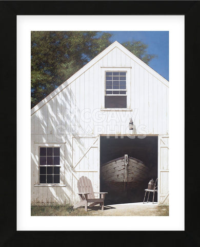 The Barn (Framed) -  Zhen-Huan Lu - McGaw Graphics