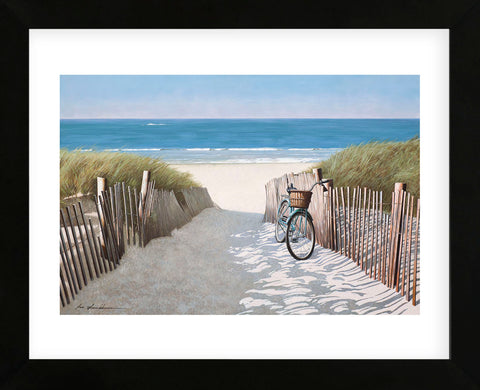 A Ride to the Beach (Framed)