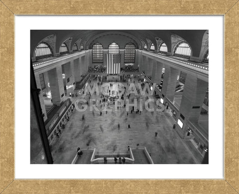 Grand Central Station Interior Framed Mcgaw Graphics