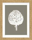 Artichoke (Burlap & Ivory) (Framed) -  Botanical Series - McGaw Graphics