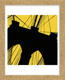 Brooklyn Bridge (yellow) (Framed) -  Erin Clark - McGaw Graphics
