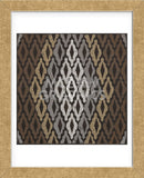Moroccan Tile with Diamond (Neutrals) (Framed) -  Susan Clickner - McGaw Graphics