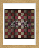 Basketweave Triple Play (Red) (Framed) -  Susan Clickner - McGaw Graphics