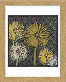 Dandelions on Circles Linked (Yellow) (Framed) -  Susan Clickner - McGaw Graphics