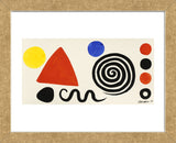 Abstraction, 1966 (Framed) -  Alexander Calder - McGaw Graphics