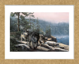 Stalking the Bluffs (Framed) -  Kevin Daniel - McGaw Graphics