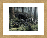 Wolves with Wolverine (Framed) -  Kevin Daniel - McGaw Graphics