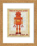 Stan Jr. Box Art Robot (Framed) -  John W. Golden - McGaw Graphics