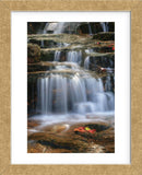 Waterfall Whitecap Stream (Framed) -  Michael Hudson - McGaw Graphics