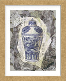 Blue Dragon Vase  (Framed) -  Annabel Hewitt - McGaw Graphics