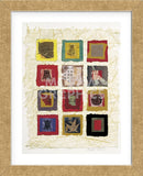 Oriental Fragments  (Framed) -  Annabel Hewitt - McGaw Graphics