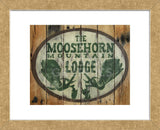 The Moosehorn Mountain Lodge (Framed) -  Katelyn Lynch - McGaw Graphics