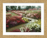 Monet's Flower Garden (Framed) -  Zhen-Huan Lu - McGaw Graphics