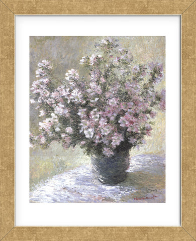 Vase Of Flowers Framed Mcgaw Graphics