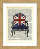 Union Jack Chair (Framed)