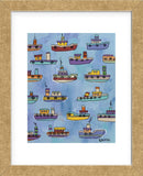 Tugboats (Framed) -  Brian Nash - McGaw Graphics