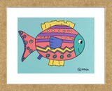 Fish IV (Framed) -  Brian Nash - McGaw Graphics