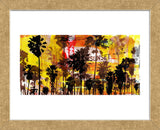Sunset and Palms 2 (Framed)