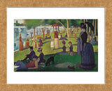 Sunday Afternoon on the Island of Grand Jatte 1864-6  (Framed) -  Georges Seurat - McGaw Graphics