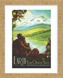Earth (Framed) -  Vintage Reproduction - McGaw Graphics