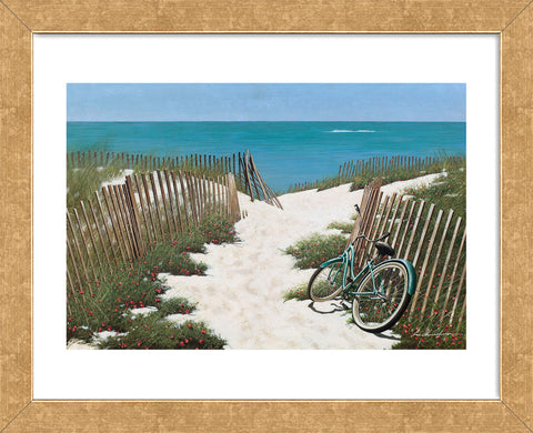 Beach Cruiser (Framed) -  Zhen-Huan Lu - McGaw Graphics