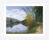 Path Along the River  (Framed) -  Timothy Arzt - McGaw Graphics